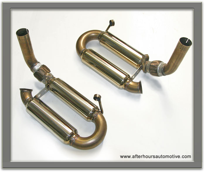 Afterhours Automotive Porsche 996 997 Sport Exhaust System